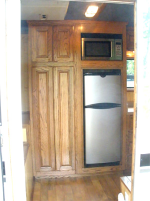 Pantry and appliance cabinet
